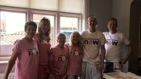 Comepetitors from across the town raised £600 for Breast Cancer Now. Picture: Contributed by Kim Rob