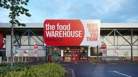 Iceland want to open a Food Warehouse in Hall Road, Norwich. This is their store in Banbury. Pic: Ic