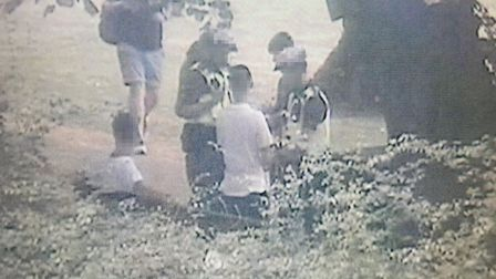 Police launched an operation against a gang of 30 youths in Chapelfield Gardens in July. Picture: No