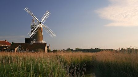 Iconic Cley Windmill is being sold by Strutt & Parker for a price on application. Picture: Strutt &
