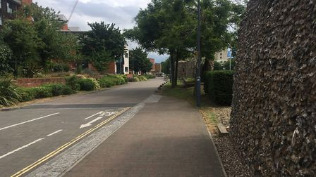 Police are upping patrols around Coburg Street and Chapelfield Gardens. Picture: Dominic Gilbert