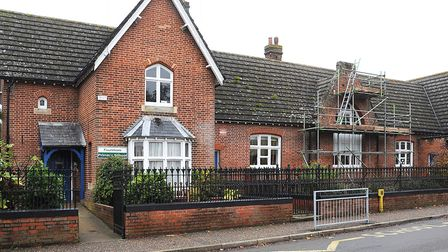 Foulsham Primary School, which has cancelled its end-of-year barbecue for year six pupils. Picture: