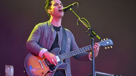 Stereophonics headlining the Obelisk Arena on Saturday, Latitude 2019. Picture: 2019