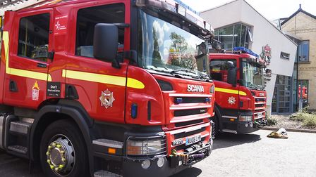 Firefighters have been called out to a number of grass and field fires. Picture: Ian Burt