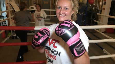Personal trainer Sharon Plummer organised a 24hr Boxathon at Redwell Brewery near Trowse for Norfolk
