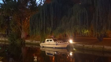 The boat at the centre of a river drama Picture: Ruth Lawes