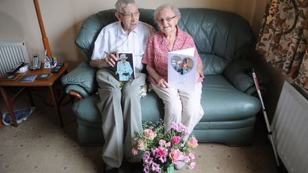 A Terrington St Clement couple have celebrated their 70th wedding anniversary. Photo: Casey Cooper-F