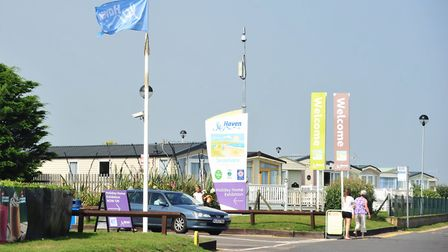 The pool at Haven Seashore Holiday Park in Great Yarmouth has been closed for the second time. Pictu