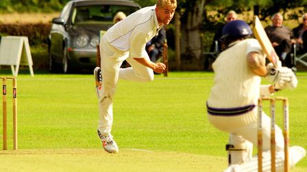 Olly Stone in action for Norfolk at Manor Park last year. Picture: Tim Ferley