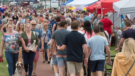 Gorleston Clifftop Festival is on the same day as Norfolk Day this year with day one kicking off on