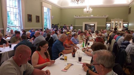 More than 90 players from 6 leagues across Norfolk gathered at the Assembly Rooms in Norwich on Satu