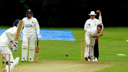Toby Duncan had a chance to impress in the EAPL as Swardeston took on Cambridge at The Common Pictur
