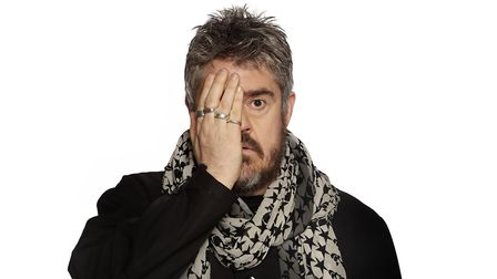 Headline act at Laugh in the Park 2019, Phill Jupitus. Photo: Contributed