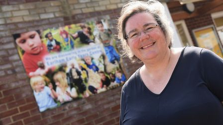 Carole Jacques, head teacher of Earlham Early Years Nursery. Picture: DENISE BRADLEY