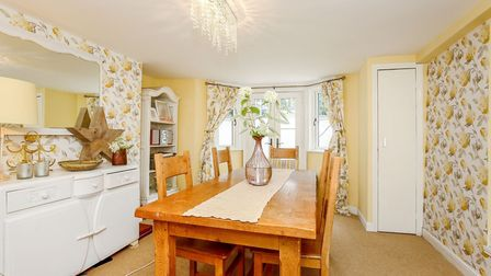 This four-bedroom home in the Golden Triangle area of Norwich has been carefully restored to create
