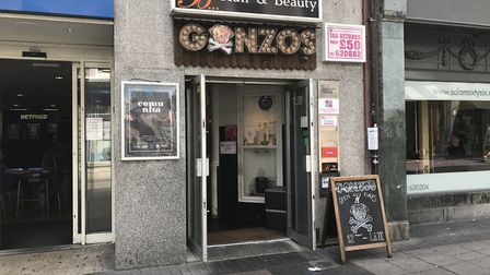 Gonzo's Tea Room in London Street, Norwich. Picture Neil Perry.