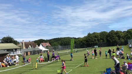 Cromer Lawn Tennis & Squash Association to become a coaching centre. Picture: Andy Margarson