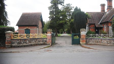 Cemetery Lodge (left) in Dereham could be extended. Picture: Ian Burt