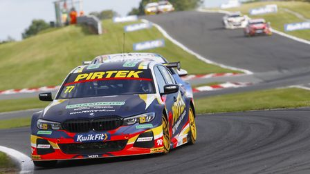 Andrew Jordan has won more times this year than BMW 330i M Sport team-mate Colin Turkington and will