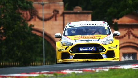 Tom Chilton proved fastest at the recent Snetterton test with his Ford Focus Picture: James Roberts/