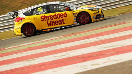 Former Attleborough resident Olly Jackson was quickest on day two of the recent Snetterton test and