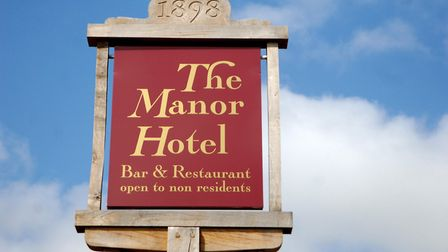 The Manor Hotel in Mundesley. Picture: Colin Finch
