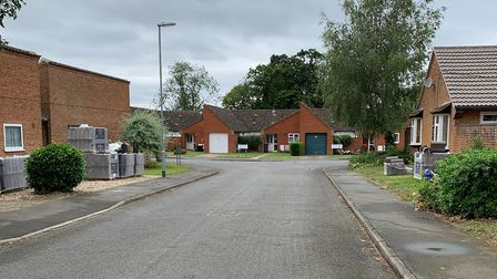 Planning application to build 19 houses on land south of Prince Henry Place, has been deferred. Pict