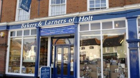 Bakers & Larners in Holt. Pic: Archant library