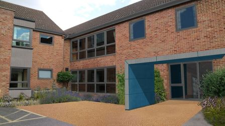 A visualisation of how Mountfield could look following the revamp. Pic: NorseCare.