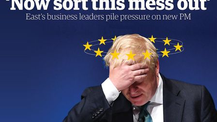 Business leaders in Norfolk and Suffolk have urged Boris Johnson to provide answers and certainty. P