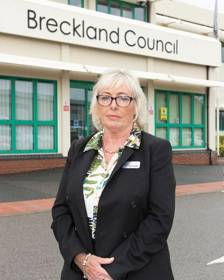 Alison Webb, Brecklands executive member for housing, health and environment. Picture: Keith Mindham