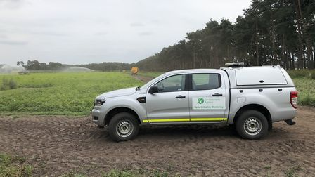The Environment Agency is stepping up its spray irrigation abstraction patrols in the Fens during th