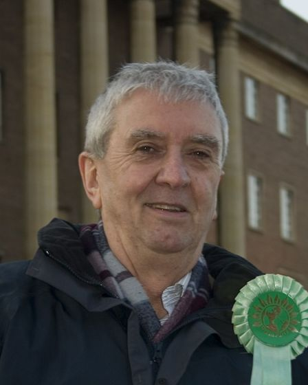 Paul Neale, Green city councillor for Nelson ward in Norwich. Pic: Green Party.