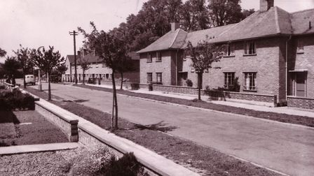 This pleasant tree lined road is Maid Marion Road on the well established Tuckswood Estate. Date: 25