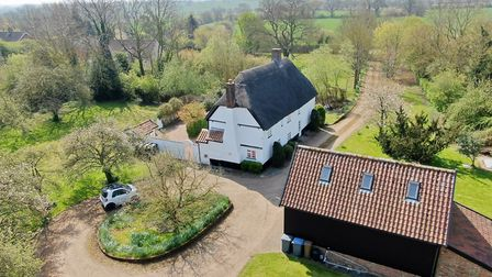 Willow Farm at Chediston Green, Suffolk, is for sale at a guide price of £795,000 with Musker McInty