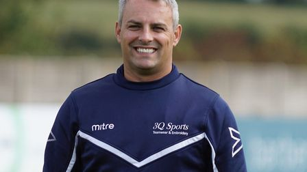 Lowestoft Town manager Jamie Godbold Picture: SHIRLEY D WHITLOW