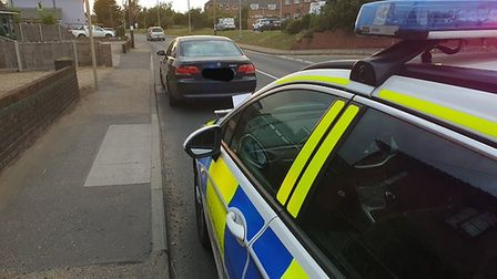 A driver in Diss was arrested on suspicion of drug-driving. Pic: Norfolk Constabulary