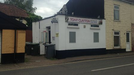 Picture of bookmakers which was targeted by robbers. Picture: Archant