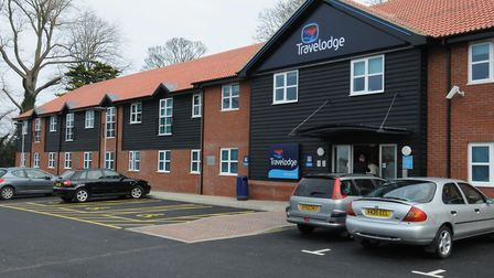 Back then, the opening of a new Travelodge in Lowestoft in 2009. Photo: Andy Darnell