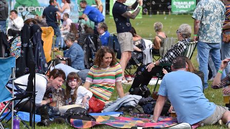 Picnic at the Nearly Festival in Earlham Park Credit: Sonya Duncan