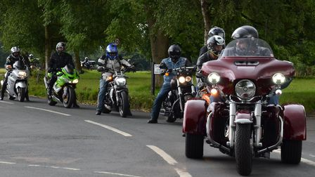 Riders from the 2018 event in memory of Ted Churchyard. Photo: Ruth Downes