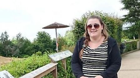 Stacey before she lost more than eight stone. Photo: Courtesy of Slimming World