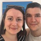 Laura Bradley and Martin Edwards, from Tasburgh, who suffer with Lyme disease. Photo: Laura Bradley