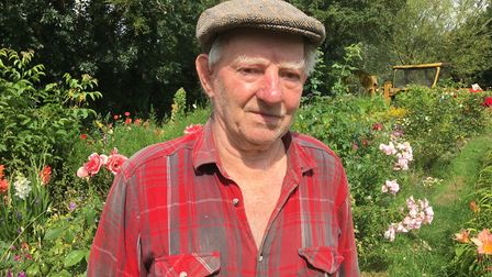 David Self, known locally as John, who has paid tribute to his wife of 52 years, Maureen, who died i