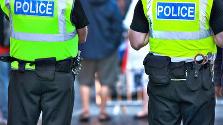 Police officers on duty. Photo: Getty Images/iStockphoto