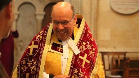 Revd Ian Bentley's installation and collation service on Sunday 9 September in Norwich Cathedral. Ph