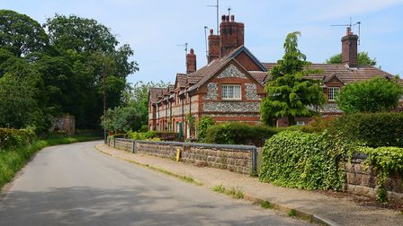 Just 63 people live in a handful of cottages at Anmer Picture: Ian Burt