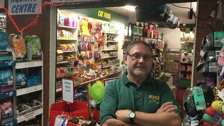 Alan Raven, owner of Fido's Pet Bazaar, which has been forced to stop selling pets. Picture: Archant