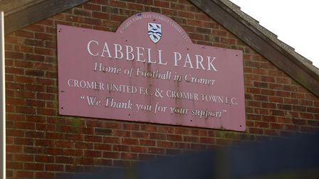Cabbell Park home of Cromer Town FC.Photo by Mark Bullimore