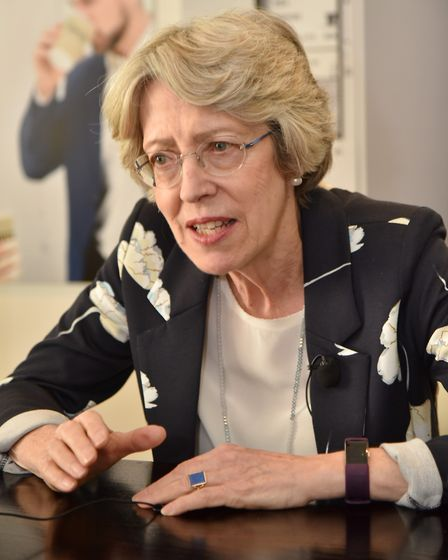 Patricia Hewitt, independent chairman of Norfolk and Waveney STP. Picture: Sonya Duncan